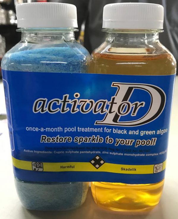 Activator-D Pool Product